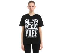 T-SHIRT AUS JERSEY 'PABLO COTS DRUG FREE'