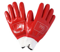 PRINTED LOGIC RUBBER GLOVES