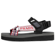 40MM NOMAD PRINTED NYLON SANDALS