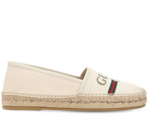20MM PILAR COTTON CANVAS ESPADRILLES