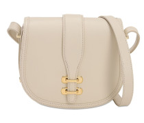ALBI SMALL LEATHER SHOULDER BAG