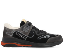 ULTRAPACE G-LINE SUEDE & MESH SNEAKERS