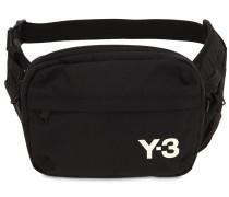 Y-3 SLING NYLON BELT BAG