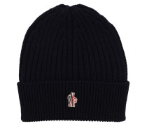 LOGO VIRGIN WOOL BEANIE