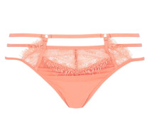 ALEXANDRA LACE & TULLE THONG