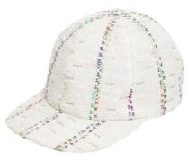 HAILEY STRIPED TWEED BASEBALL CAP