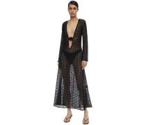 JANE COTTON CROCHETED LONG DRESS