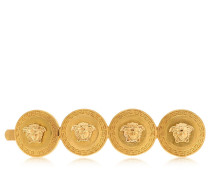 HERITAGE MEDUSA COIN RIGHT SIDE HAIR PIN