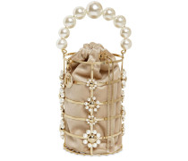 CASSADY PEARLS TOP HANDLE BAG