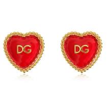 CLIP-OHRRINGE 'DG HEART'