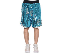 TRANSFER SEQUINED SHORTS