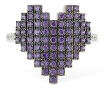 RING 'PIXEL PURPLE HEART'