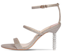 85MM ROSALIND GLITTERED SANDALS