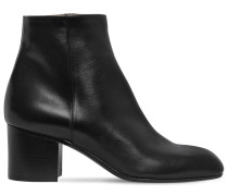 60MM SELDA LEATHER ANKLE BOOTS