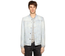 DENIMJACKE MIT RAW CUT-RÄNDERN