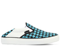 20MM HOHE SLIP-ON-SNEAKERS AUS CANVAS 'BABOUCHE'