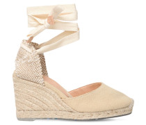 80MM CARINA ECO-COTTON ESPADRILLE WEDGES
