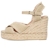 80MM BROMILIA LINEN & COTTON ESPADRILLES