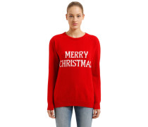 WOLLMISCHPULLOVER 'MERRY CHRISTMAS'