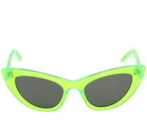 LILY CAT-EYE NEON ACETATE SUNGLASSES