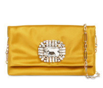 TITANIA SILK SATIN CLUTCH