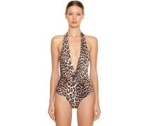 ROSEDALE LEOPARD ONE PIECE SWIMSUIT