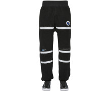 EMBROIDERY & PATCH TECH FLEECE PANTS