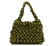 THEODORE MINI KNOTTED SATIN BAG