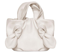 RONNIE LEATHER TOP HANDLE BAG