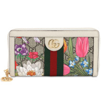 FLORA GG SUPREME ZIP AROUND WALLET