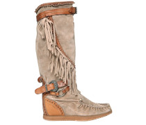 70MM HOHE WEDGE-STIEFEL 'SILVERSTONE'