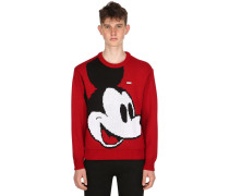STRICKPULLOVER AUS WOLLMISCHUNG 'MICKEY MOUSE'