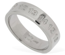 SILVER THICK RING