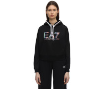 TRAIN MASTER CROPPED SWEATSHIRT HOODIE