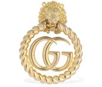 GG MARMONT LION HEAD MONO EARRING