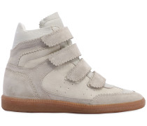 40MM HOHE WEDGE-SNEAKERS AUS WILDLEDER 'BILSY'