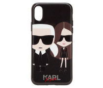 IPHONE X-COVER MIT KAIA X KARL-DRUCK