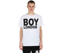 T-SHIRT AUS JERSEY MIT DRUCK 'BOY LONDON'
