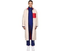 REVERSIBLE SHERPA LONG SHEARLING COAT