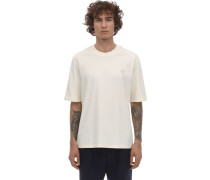 LOGO PATCH COTTON JERSEY T-SHIRT