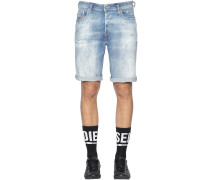 LOCKERE SHORTS AUS STRETCH-DENIM