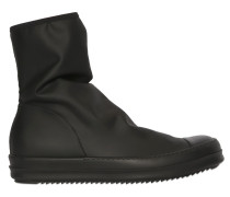 STIEFEL AUS STRETCH-NYLON