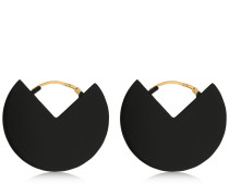 90 DEGREES TWO TONE EARRINGS