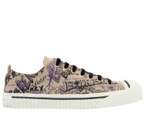 20MM HOHE SNEAKERS AUS CANVAS 'KINGLY DOODLE'