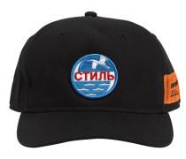 LOGO PATCH COTTON BASEBALL CAP