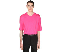 OVERSIZE LIGHT COTTON & VISCOSE T-SHIRT