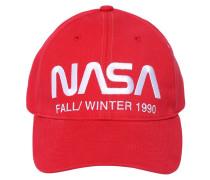 NASA EMBROIDERED COTTON BASEBALL HAT