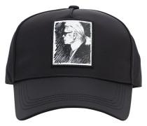 KARL LEGEND PRINTED NYLON BASEBALL HAT