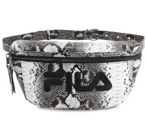 LOGO SNAKE PRINT BELT BAG