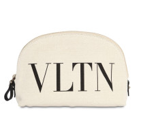 VALENTINO GARAVANI CANVAS COSMETIC BAG